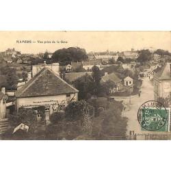 ABAO 72 - Sarthe [72] Mamers - Vue prise de la Gare.