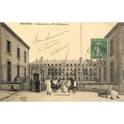 ABAO 72 - Sarthe [72] Mamers - Caserne du 115ème d'Infanterie.