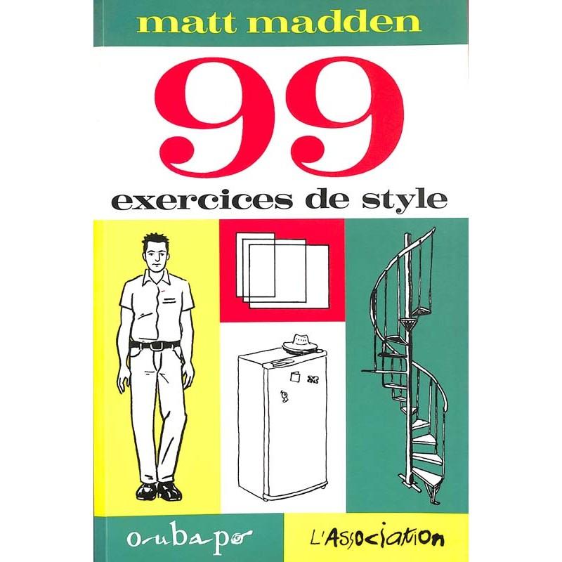 ABAO Bandes dessinées 99 exercices de style
