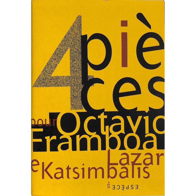 ABAO Bandes dessinées 4 pièces pour Octavio Framboa