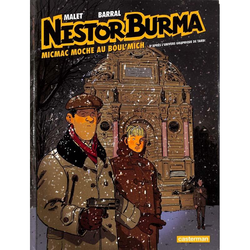 ABAO Bandes dessinées Nestor Burma 10
