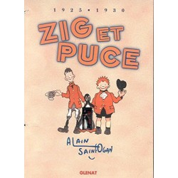 ABAO Bandes dessinées Zig et Puce Coffret 01 à 04 + figurine Alfred