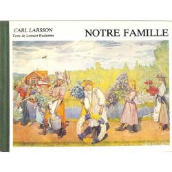 ABAO Enfantina Rudström (Lennart) - Notre famille. Illustrations de Carl Larsson.