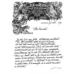ABAO Bandes dessinées Zoo 02 + Lettre