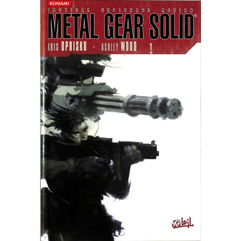 ABAO Bandes dessinées Metal gear solid 01