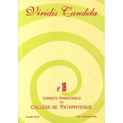 ABAO Pataphysique Carnets du Collège de Pataphysique n°18