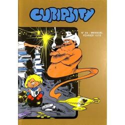 ABAO Bandes dessinées Curiosity mensuel 25