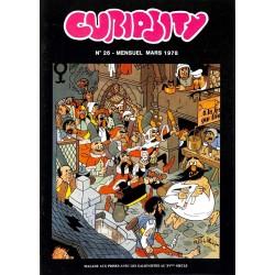 ABAO Bandes dessinées Curiosity mensuel 26