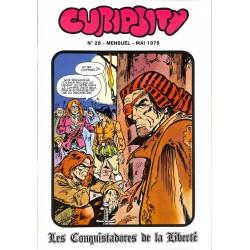 ABAO Bandes dessinées Curiosity mensuel 28