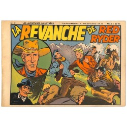 ABAO Bandes dessinées Les Aventures illustrées 11 - Red Ryder
