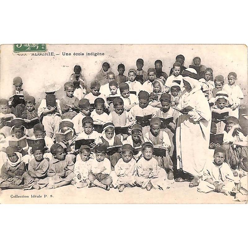 ABAO Algérie Algérie - Une école indigène.