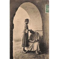 ABAO Algérie Barbier arabe.