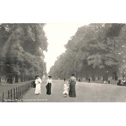 ABAO Royaume-Uni London - The Broad Walk Kensington Gardens.