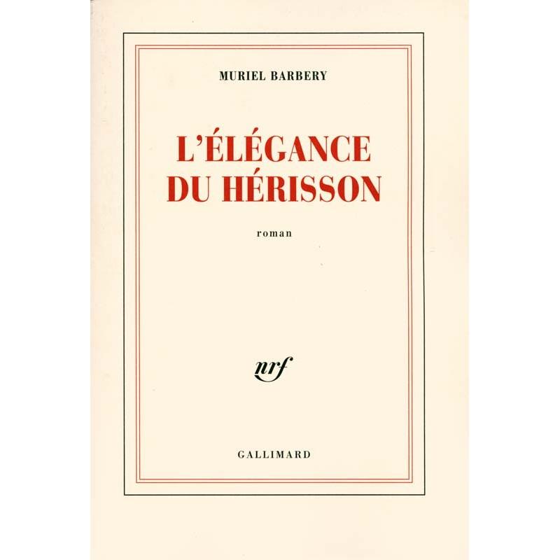 ABAO Romans Barbery (Muriel) - L'Elégance du hérisson.