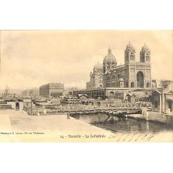 ABAO 13 - Bouches-du-Rhône [13] Marseille - La Cathédrale.