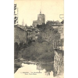 ABAO 84 - Vaucluse [84] Pernes - Les Fortifications Porte Notre-Dame.