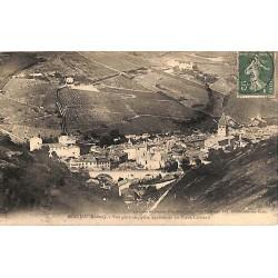 ABAO 69 - Rhône [69] Beaujeu - Vue générale prise des ruines du vieux château.