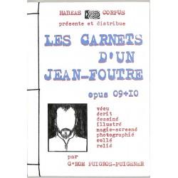 ABAO Peinture, gravure, dessin Puigros-Puigener (Jérôme) - Mon moi mensuel ou les carnets d'un jean-foutre 09/10.