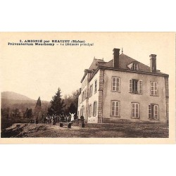 ABAO 69 - Rhône [69] Amigné - Préventorium Mauchamp. Le Bâtiment principal.