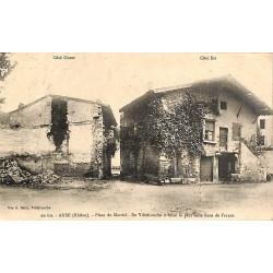 ABAO 69 - Rhône [69] Anse - Place du Marché.