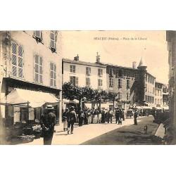 ABAO 69 - Rhône [69] Beaujeu - Place de la Liberté.