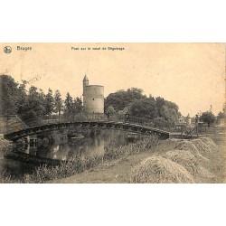 ABAO Flandre occidentale Bruges - Pont sur le canal de Béguinage.