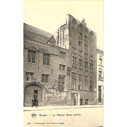 ABAO Flandre occidentale Bruges - La Maison Noire.