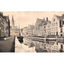 ABAO Flandre occidentale Bruges - Quai du Miroir et Place.