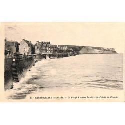 ABAO 14 - Calvados [14] Arromanches-les-Bains - La Plage à marée haute et la Pointe du Grouin.