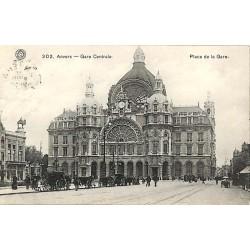ABAO Anvers Anvers - gare Centrale. Place de la Gare.