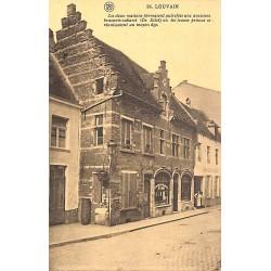 ABAO Brabant flamand Louvain - Ces deux maisons formaient autrefois une ancienne brasserie-cabaret...