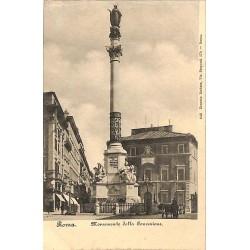 ABAO Italie Roma - Monumento della Concezione.