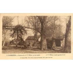 ABAO 77 - Seine-et-Marne [77] Barbizon - Ateliers de J.F. Millet, vu du Jardin.