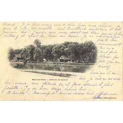 ABAO 77 - Seine-et-Marne [77] Bray-sur-Seine - Chantier de bateaux.