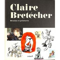 ABAO Monographies Bretécher (Claire) - dessins et peintures.