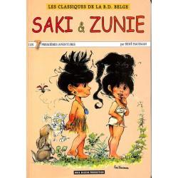 ABAO Bandes dessinées Saki et Zunie 04 TL 750 ex. num. et signé