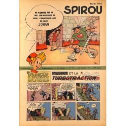 ABAO Fascicules Spirou 1953/01/22 n°771