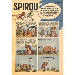 ABAO Fascicules Spirou 1953/06/11 n°791