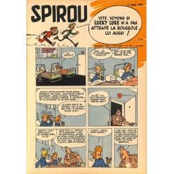 ABAO Fascicules Spirou 1953/07/09 n°795