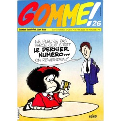 ABAO Gomme ! Gomme ! 26