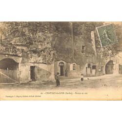 ABAO 72 - Sarthe [72] Château-du-Loir - Ferme en roc.