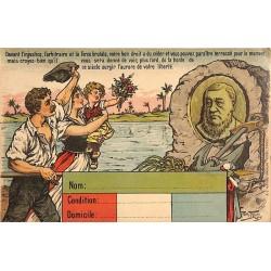 ABAO Militariat Thiele (Arthur) - Carte de propagande.
