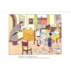 ABAO Cartes postales [Hergé] Scoutisme, à votre santé !