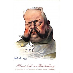 ABAO Illustrateurs Weal - Maréchal von Hindenburg.