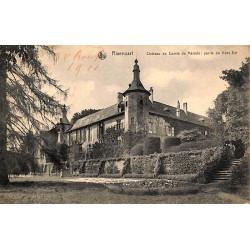 ABAO Brabant wallon Rixensart - Château du Comte de Mérode : partie du Nord-Est.
