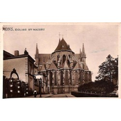 ABAO Hainaut Mons - Eglise Ste Waudru.