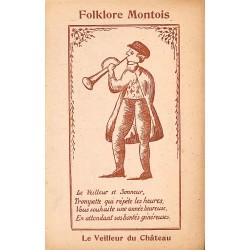 ABAO Hainaut Mons - Folklore Montois, Le Veilleur du Château.