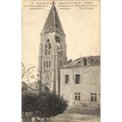 ABAO 77 - Seine-et-Marne [77] Bercy - L'Eglise entièrement détruite par les allemands.