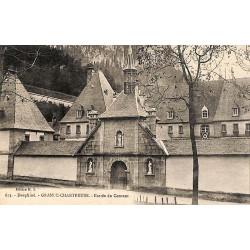 ABAO 38 - Isère [38] Saint-Pierre-de-Chartreuse - Grande-Chartreuse. Entrée du Couvent.