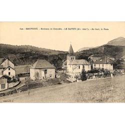 ABAO 38 - Isère [38] Le Sappey-en-Chartreuse - Le Sappey. Au fond, la Pinéa.